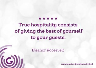Quotes Gastvrijheid In Bedrijf
